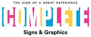 Complete Signs & Graphics Toronto Sign Company Logo