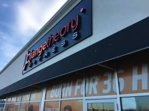 Orange Theory Fitness Signs